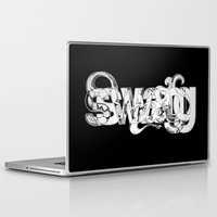 swag Laptop & iPad Skins featuring swag by limeflavored