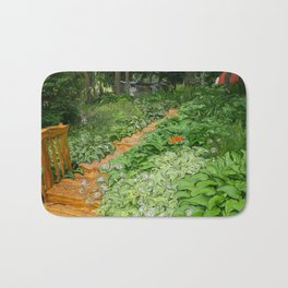 Garden Path Bath Mat