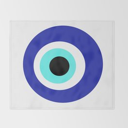 Blue Eye Throw Blanket
