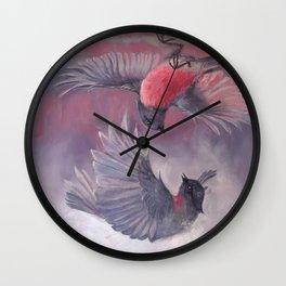 Fragile Beauty II Wall Clock