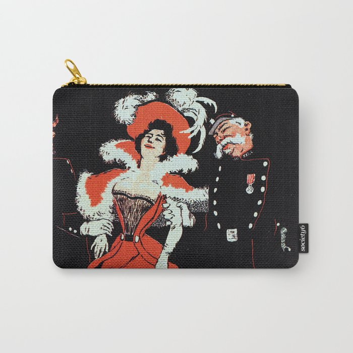 To jail Paris nightlife 1897 Carry-All Pouch