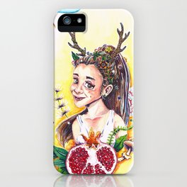 Pom Persephone iPhone Case