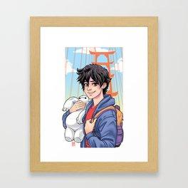 Big Hero Framed Art Print