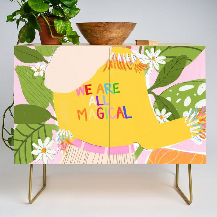 We are magical Credenza