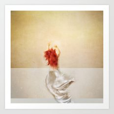 way in. way out. Art Print