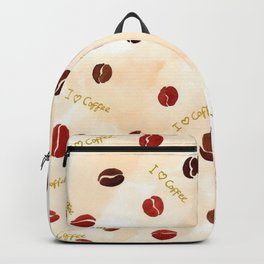 Coffee love pattern Backpack
