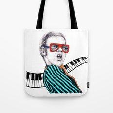 Vintage Elton - Analog Zine Tote Bag