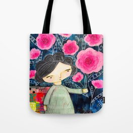 Quilted Princess Tote Bag