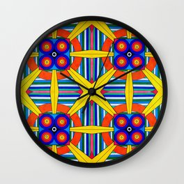 Four Quadrants Wall Clock