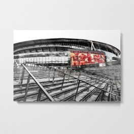 Arsenal FC Emirates Stadium London Art Metal Print