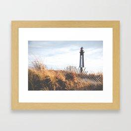 Cape Henry Lighthouse the 2nd ( Matte, Color) Framed Art Print