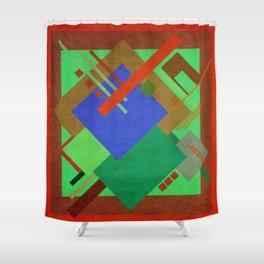 Geometric illustration 48 Shower Curtain