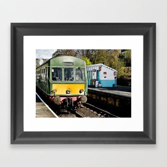 Grosmont Station Framed Art Print