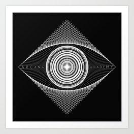 Arcana Academy - no curve Art Print