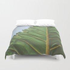 One Big Leaf Duvet Cover