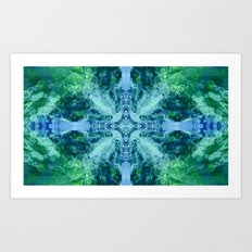 Mountanitas 6 (Colorsplash) Art Print