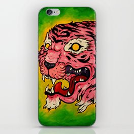 Wrath of the Pink Tigress iPhone Skin