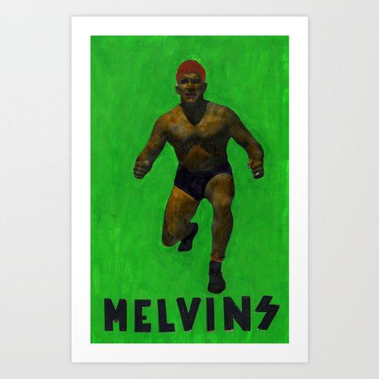 Melvins Art Print