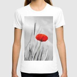 Poppy Red 070 T-shirt
