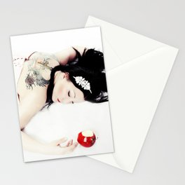 Hard Core SnoWhite Stationery Cards