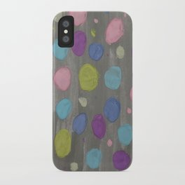 Pastel Bubbles Abstract iPhone Case