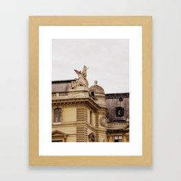 The Trumpeter of Paris  Framed Art Print