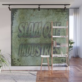 Slam 1 Industries Metal Wall Mural