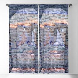 Paul Klee Athlete's Head Blackout Curtain