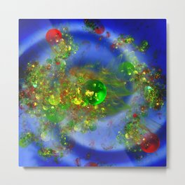 Exploding Universe Metal Print