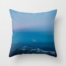 Adams from Rainier Throw Pillow