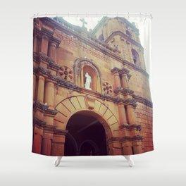 La Iglesia Shower Curtain