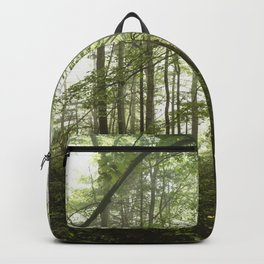 Smoky Mountain National Park - Green Foggy Forest Backpack