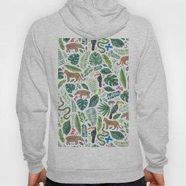 Jungle/Tropical Pattern Hoody