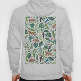 Jungle/Tropical Pattern Hoody