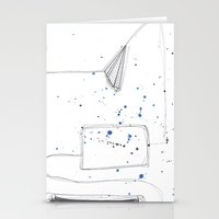 fly Stationery Cards featuring Fly by MAGIC DUST