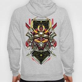 Metal samurai, iron mask Hoody