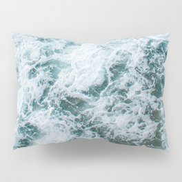 Waves in Abstract Pillow Sham