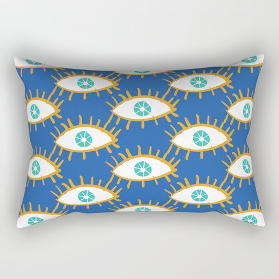 Eyes don't lie Rectangular Pillow
