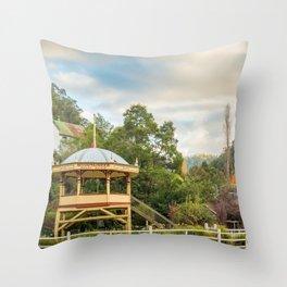 Walhalla Bandstand Throw Pillow