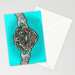 Claddagh Eye Stationery Cards