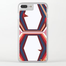 Gate to the unknown place Clear iPhone Case
