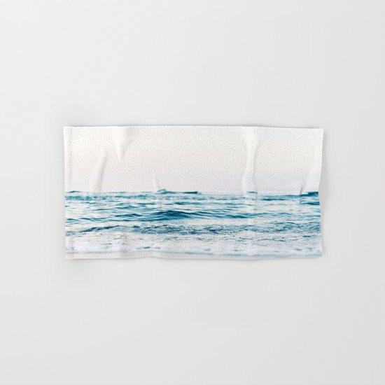 Sea water blue 8 Hand & Bath Towel