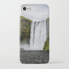 Skogafoss Waterfall Iceland iPhone Case