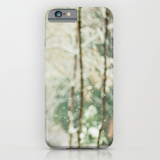 Falling Snow iPhone & iPod Case