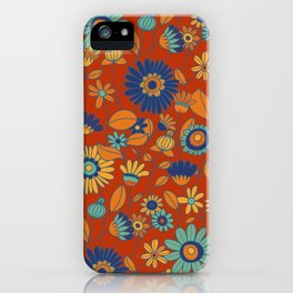 Flowers in colors iPhone Case