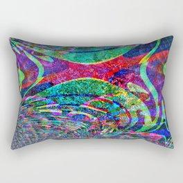 Fraktal  Colors  Rectangular Pillow