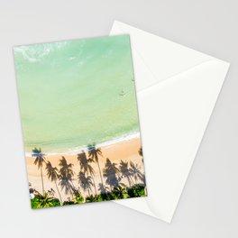 Maui beach and palm Lahaina coast Stationery Cards