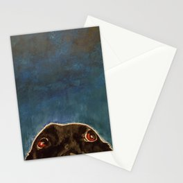 A Black Lab Please? Stationery Cards