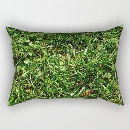 grass lawn texture Rectangular Pillow