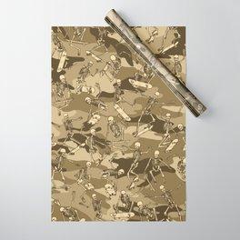 c1efe99841ab8 Grim Ripper Skater Camo DESERT Wrapping Paper